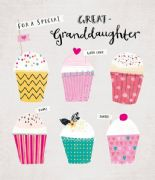 Special Great-Granddaughter Birthday Card